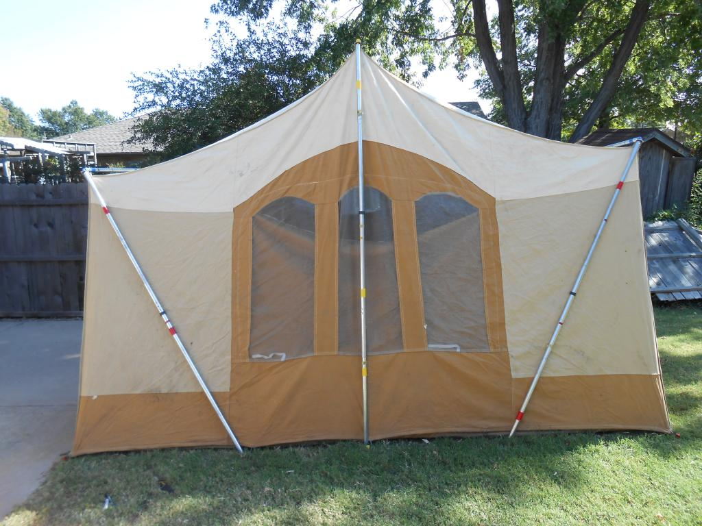 ... family and it would be fun to take my boys out c&ing. But Iu0027ve been looking at the Academy website and they have some great tents for around $100! & Old Canvas tent worth fixing?